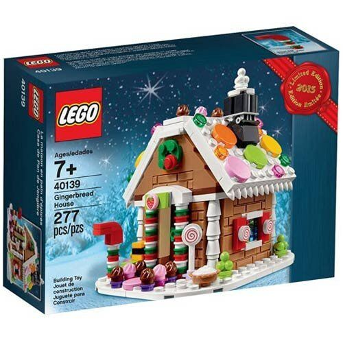 New LEGO Gingerbread House holiday Christmas set 40139 factory sealed