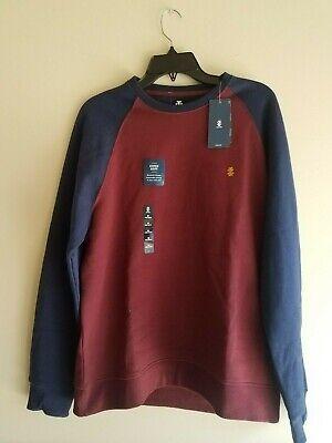 IZOD Mens Super Soft Fleece Crew Neck Pullover Sweater