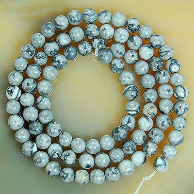 """4mm Natural Gemstone Round Beads 15.5"""" Pick Stone"""