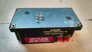 1 USED REXNORD DIRECT VIEW STORAGE TUBE CONTROL P/N: 612R003G01 -UNK. AIRCRAFT