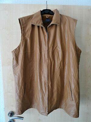 buy online fd0e9 84386 Damen Jacke / Weste ärmellos - PVC - braun - Gr. 50/52   eBay