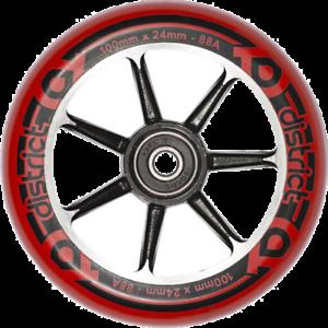 District-W-S-Series-Wheels-2PK-100-mm-Red-Black-Black