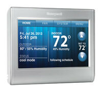 Honeywell Wifi Digital Programmable Thermostat Touchscreen Rth9580wf