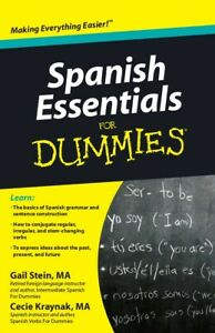 Learn Spanish Essentials For Dummies Easily Digital Book In English P D F Ebay