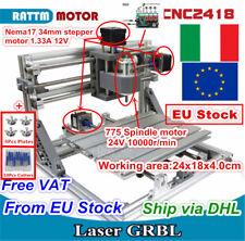 【IT】 diy mini 2418 cnc router wood pcb milling fresatura incisione laser machine