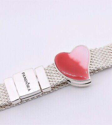Authentic PANDORA Reflexions™ Asymmetric Heart of Love Clip Charm Red  797809ENMX   eBay