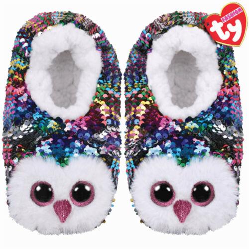 Ty Fashion Flippable Hausschuhe mit Pailletten Beanie Boos Schuhe Socken