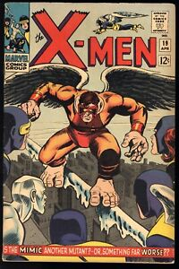 X-Men #19 5.5 FN- condition OW-CR pgs Origin and 1st app of the Mimic April 1966