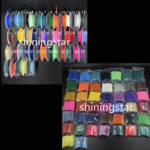 Dental-Orthodontic-Elastic-Ligature-Ties-Power-Chain-continue-short-long-44Color