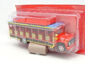 Altaya-Ixo-Presse-1-43-Bus-Car-Autobus-Ford-Chiva-Kolumbien-1990