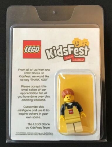 Kidsfest 2013 LEGO Store Employee Minifigure EXTREMELY RARE