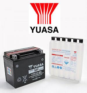 BATTERIE YUASA SUZUKI DL650 SV650 GSXR750 GSXR1000 VL