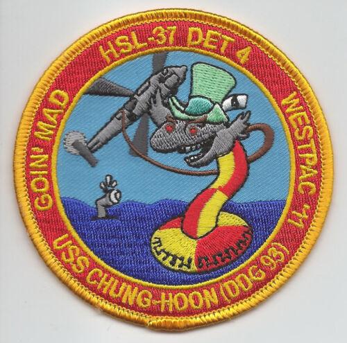 """HSL-37 DET 4 /""""GOIN/' MAD/"""" WESTPAC 2011  patch"""
