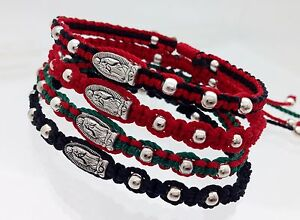 Image Is Loading Virgen De Guadalupe Handmade Religious Bracelets