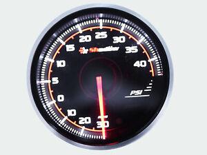 52mm-BOOST-TURBO-GAUGE-Kit-PRO3-BF-Meter-Dual-LED-Colors-Electrical-PSI-Metric