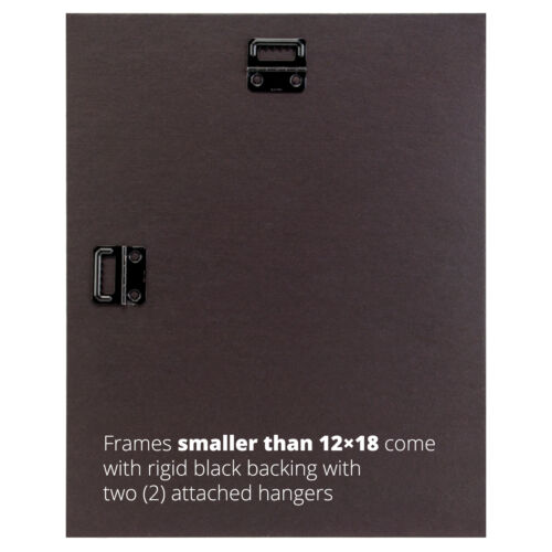 Craig Frames Mosaic 1.375 Inch Erie Black Solid Wood Picture Frame