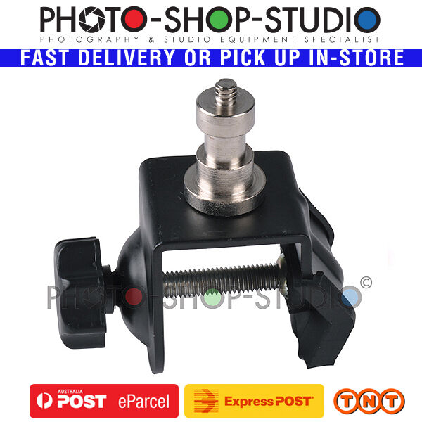 AU*Nicefoto CB-01 Studio Background Lighting Support C type Clamp with Spigot