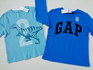 da0c8a7f NWT Lot of 2 Baby Gap Old Navy T-shirt shirt Graphic Tee for toddler ...