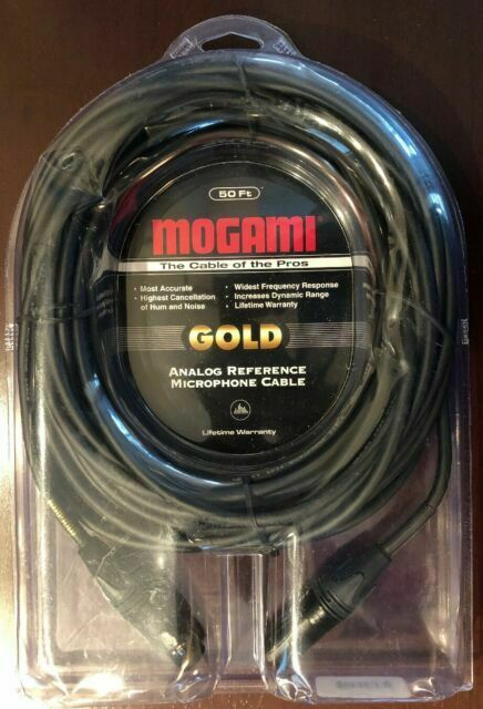 Mogami Gold Studio Microphone Cable 3/' XLR-XLR