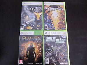 Juegos-Xbox-360-Deus-Ex-Human-Revolution-Time-Shift-Ninja-Blade-Stormrise