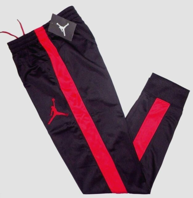 black and red jordan joggers Shop