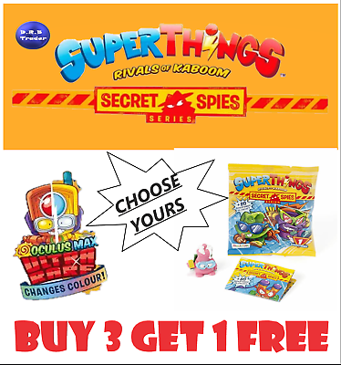SUPERZINGS SERIE 6 Bubble Top 429 Superthings Secret Spies