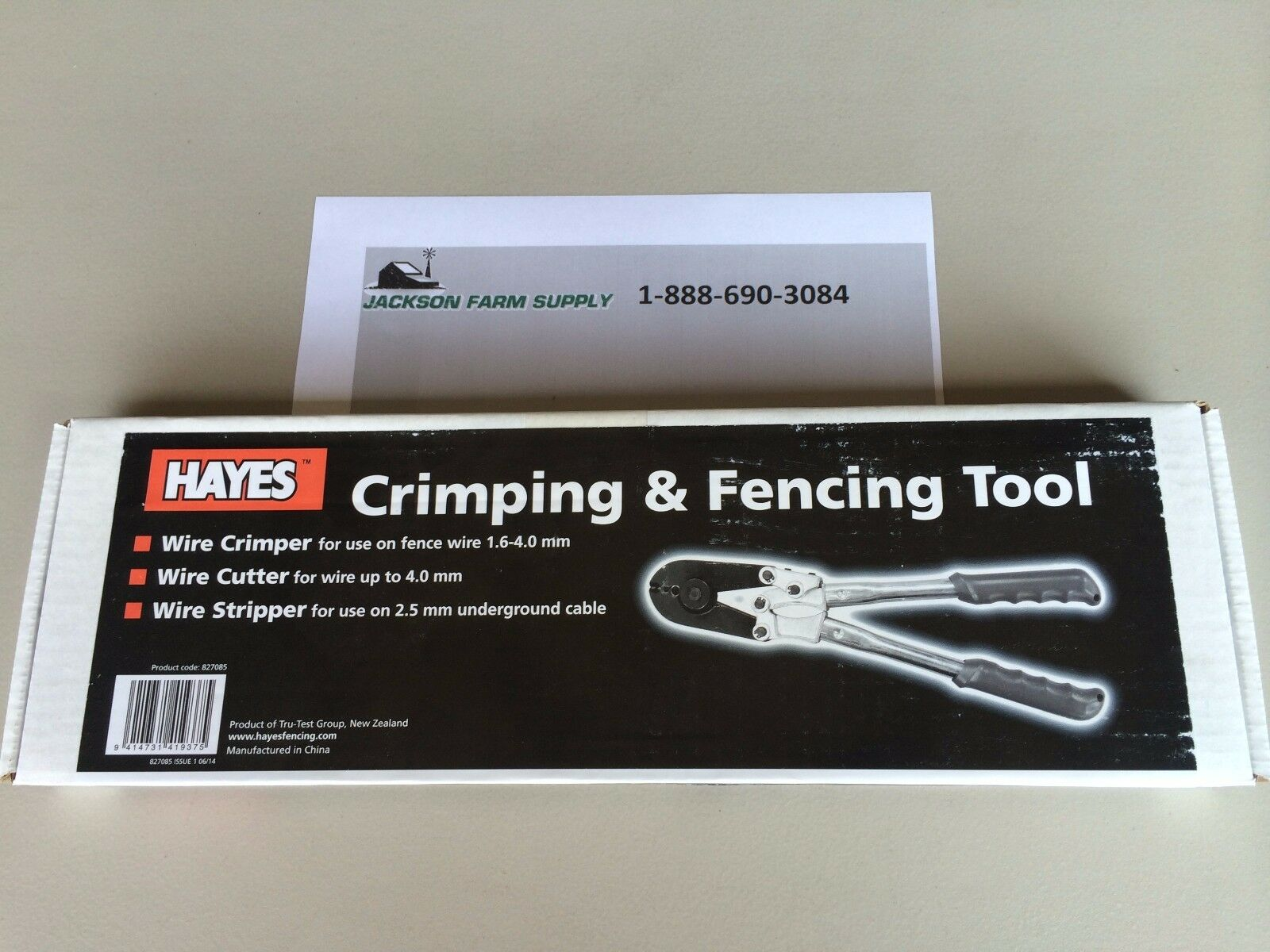 Hayes Crimping Tool 2 Slot With Cutter | eBay