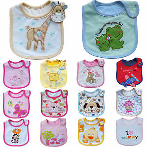 Newborn-Baby-Boy-Girl-Kids-Cartoon-Bibs-Waterproof-Saliva-Feeding-Apron-Babadore