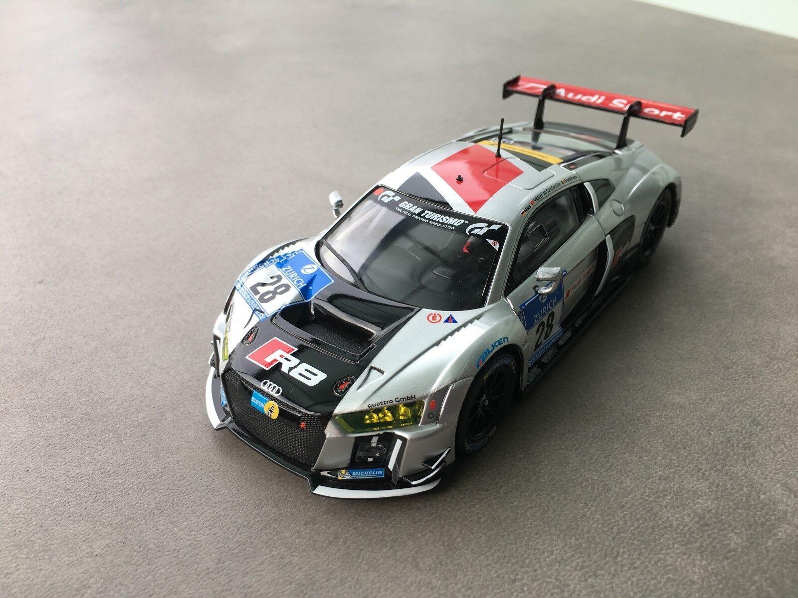 Carrera Digital 132 30769 Audi R8 Lms Audi Sport Team Light Karosse+Chassis