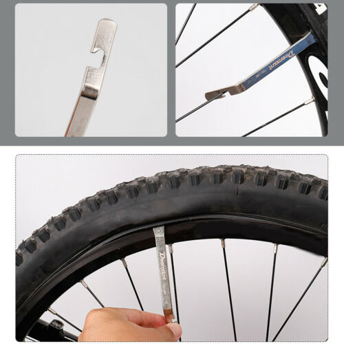 3Pcs Bicycle Bike Tire Lever Tyre Pry Bar Changing Repair Tool Carbon Steel