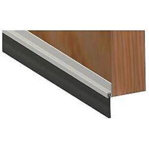 2 X Stormguard Aluminium Metal Door Bottom Draught