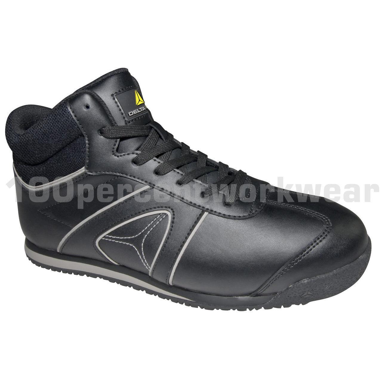 Taille10 EU 44 Delta Plus D-STAR S3 SRC Noir Safety Trainers Composite Toe