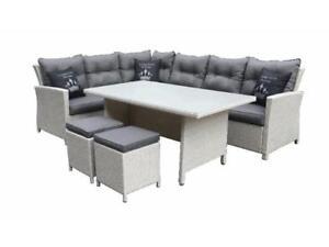 Primaster Dining Lounge Set Havanna Möbelset Gartenmöbel Sitzgarnitur Sitzgruppe