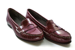 Cole Haan Air Sloane Penny Loafer Oxblood Red Patent ...