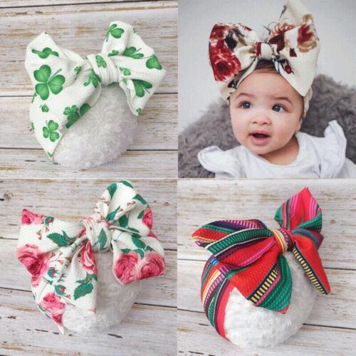 Big Bow Headband For Baby Girls Hair Bow Kids Elastic Hair Band Hair Accessories