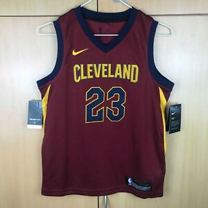 separation shoes 0c719 930c2 Details about Lebron James Cleveland Cavaliers Nike NBA Swingman Jersey  Youth