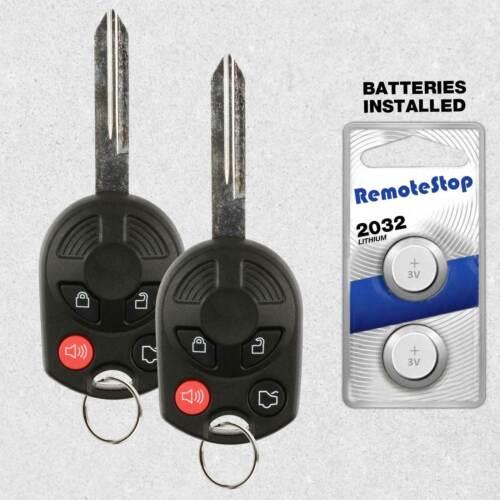 2 For 2008 2009 2010 2011 2012 2013 2014 2015 Ford Edge Car Remote Key Fob