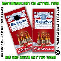 Budweiser On Ice Cornhole Board Decal Wrap Set Of 2 Cornhole Sticker