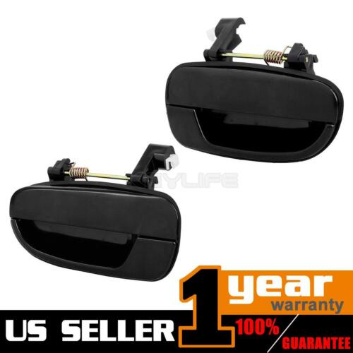 Pair For 2000-2006 HYUNDAI ACCENT Outer Rear Left LH Right Side Door Handle