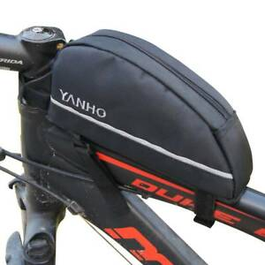 YANHO Bike MTB Bicycle Front Frame Tube Bag Pannier CyclingTail Tools Bag Pouch