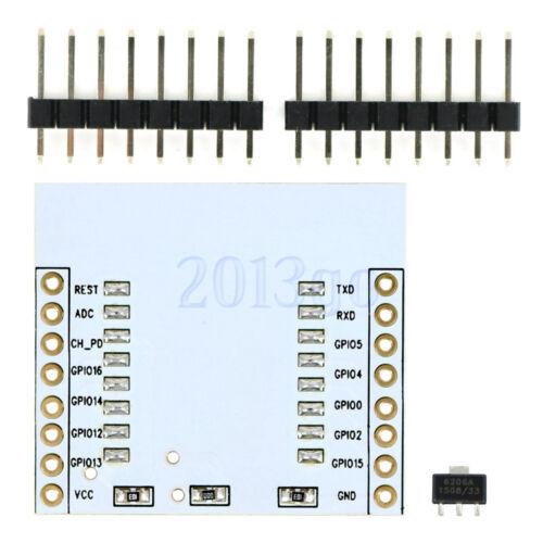 ESP8266 ESP-12E ESP-12F Wireless Transceiver Adapter Module w// 3.3V Regulator YG