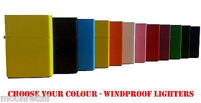 Windproof Lighter Novelty Engrave Engravable Petrol Flint Ignition Plain Gift