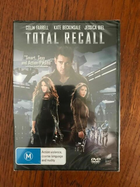 Total Recall DVD Region 4 New & Sealed