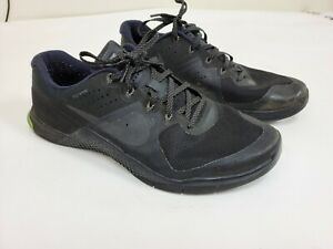 Nike-Metcon-2-Flywire-Cross-Training-Sneakers-833256-011-Men-039-s-Size-11-5