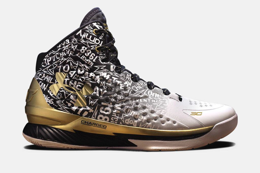 Under Armour Curry 1 B2B MVP Size 7.5