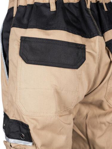 44-60 Shorts Short Schreinerhose khaki Bundhose Arbeitshose Berufsbekleidung Gr
