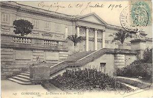 60-CPA-Compiegne-das-Schloss-und-der-Park