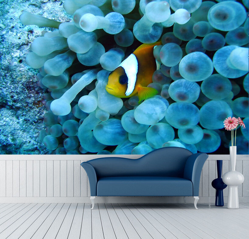 3D Sea Hidden Fish 41 WallPaper Murals Wall Print Decal Wall Deco AJ WALLPAPER