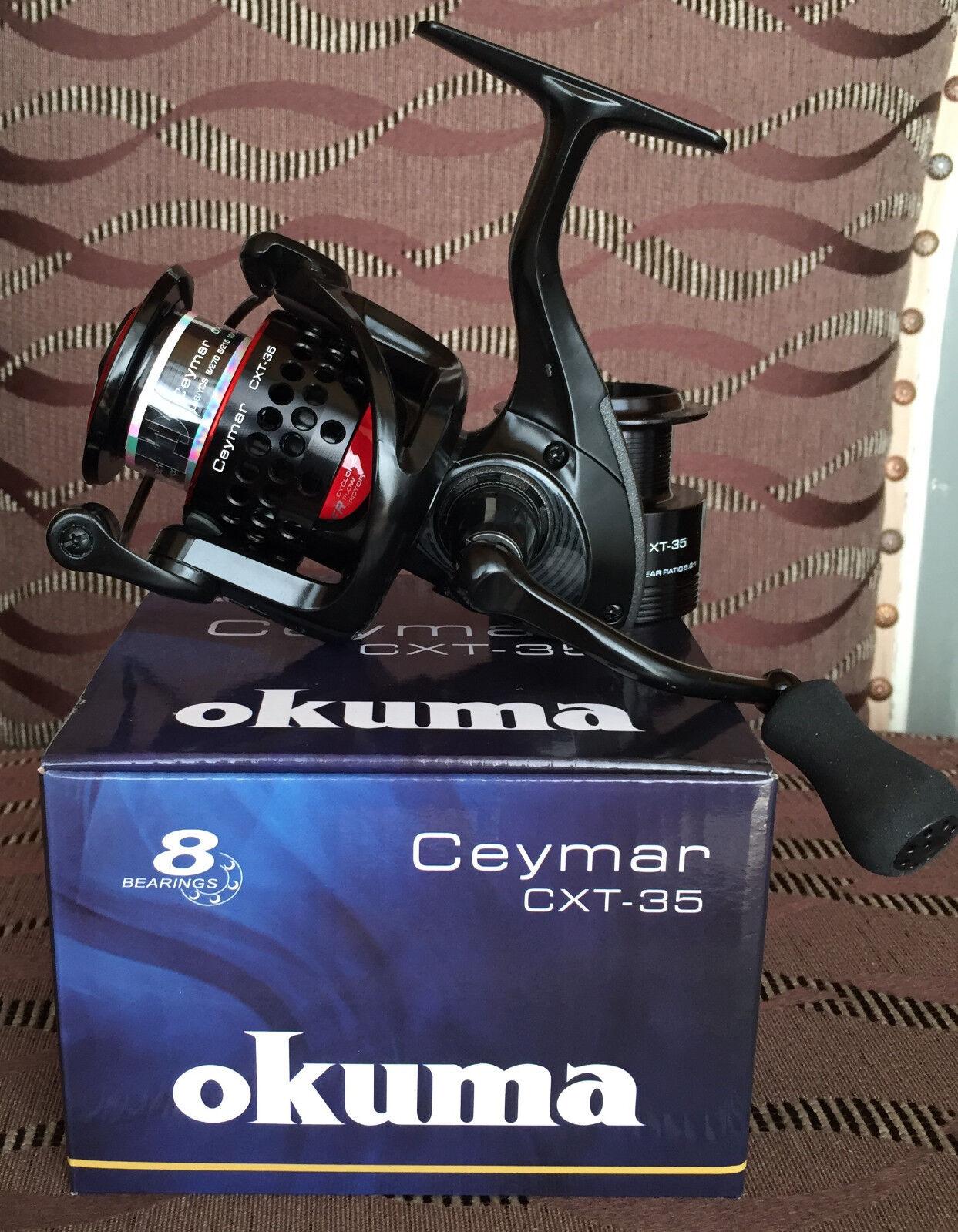 OKUMA ceymar XT cxt35 FD spinnrolle
