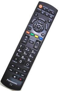 Genuine Panasonic N2QAYB000830 DEL TV Remote For TX-L32E6 TX-L39E6B TX-L42E6B